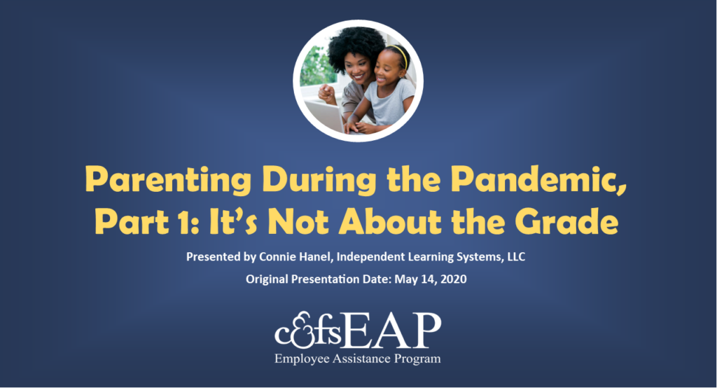 Parenting During the Pandemic, Part 1