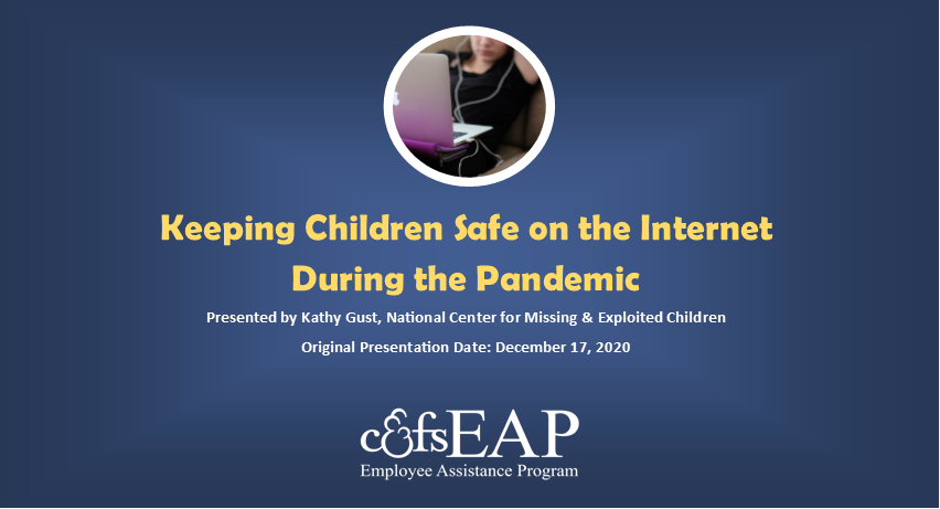 Keeping Kids Safe on the Internet During the Pandemic